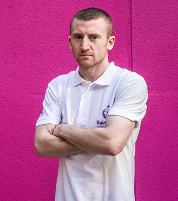 Boxing clever: Paddy Barne