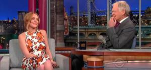Under fire: David Letterman has come in for criticism over his 2013 interview with Lindsay Lohan