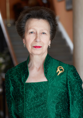 All smiles: three new portraits of Princess Royal to celebrate her 70th birthday today taken at Gatcombe Park