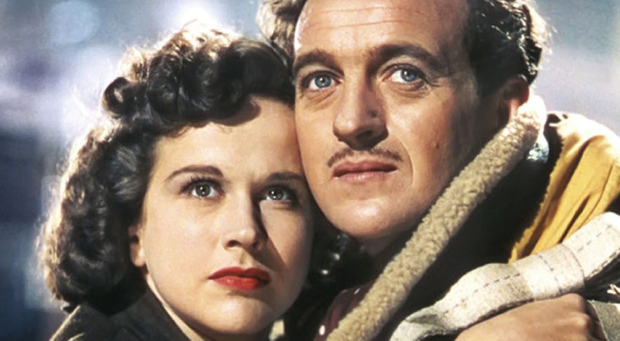 Classic movie A Matter of Life and Death starring David Niven and Kim Hunter