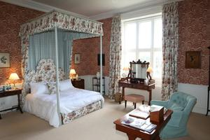 The bedroom in the west wing