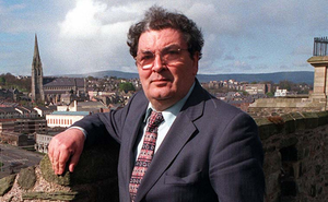 The late John Hume