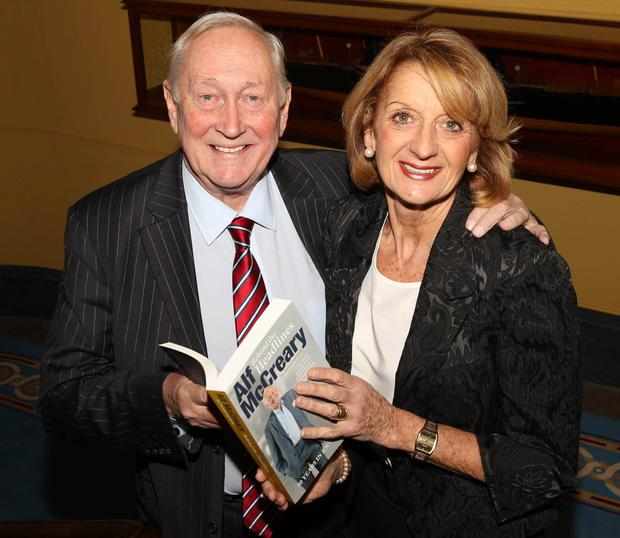 Alf with wife Hilary