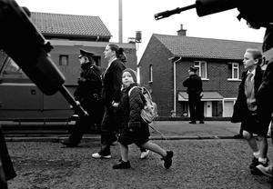 2001: the Holy Cross dispute in north Belfast