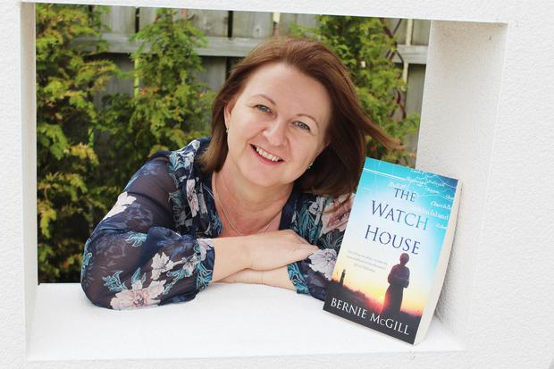 New leaf: Bernie McGill with her book, The Watch House