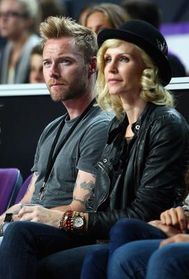 Yvonne with ex-husband Ronan Keating