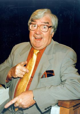 The late Frank Carson