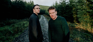 Difficult road: Eoin O'Callaghan and Ryan McMullan