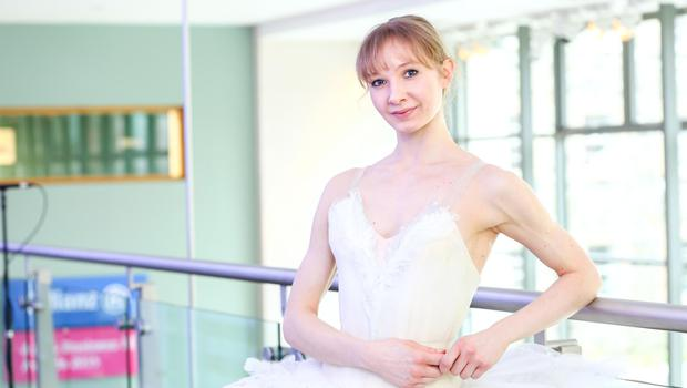 Star performer: Melissa Hamilton has been with the Royal Ballet company since 2007