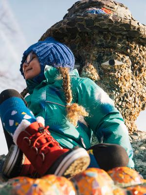 Winter warmers: snow boots are ideal for the great outdoors