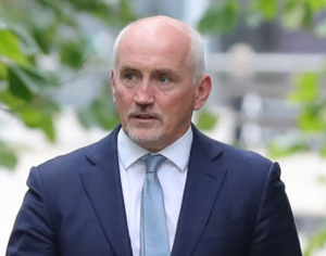 Barry McGuigan as he heads into a High Court showdown in Belfast