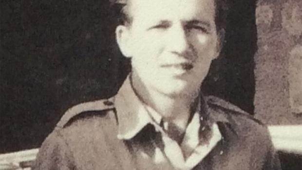 Harold 'Lee' Tracey in his RAF days