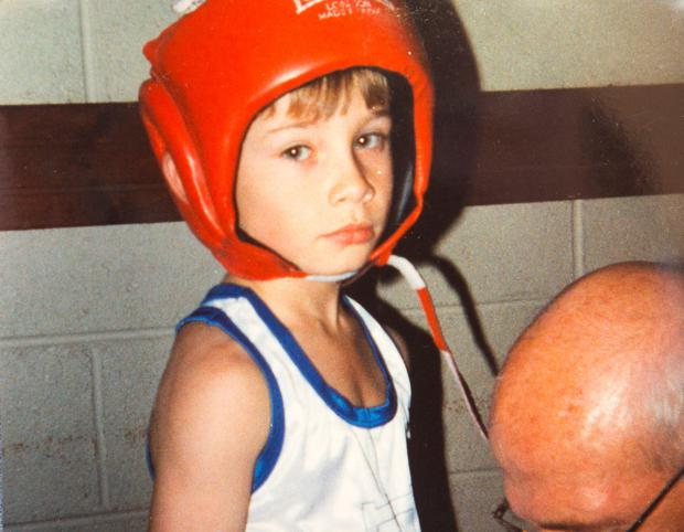 The young Frampton
