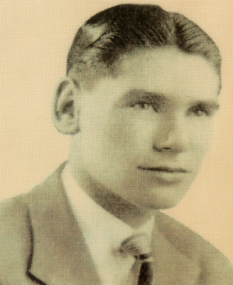 James McConnell as a young man