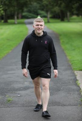 Positive mindset: Ollie Jowett (24), a personal trainer who was diagnosed with terminal cancer at 21