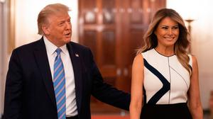 Power couple: Melania Trump remains loyal to President husband Donald