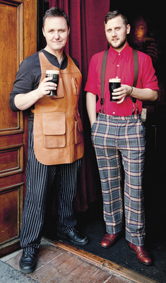 Sean Muldoon and Jack McGarry, who are the owners of The Dead Rabbit pub in New York
