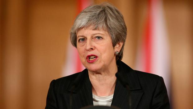 Theresa May addresses the nation on Wednesday