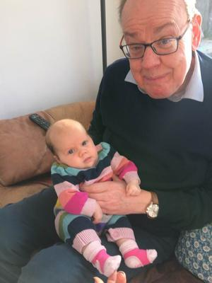 Family time: Ken with his granddaughter Summer