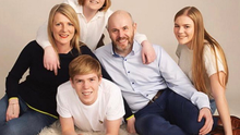 John Strutt and wife Lisa with children Rosie, James and Holly