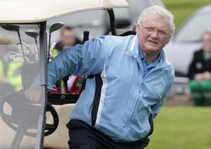 Looking good: Jackie Fullerton on the golf course