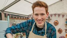 Stir it up: Andrew Smyth appearing on the Great British Bake Off