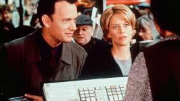 Tom Hanks with Meg Ryan in You've Got Mail