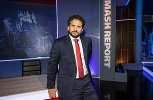 Mashed up: Nish Kumar will be back on our screens early next month