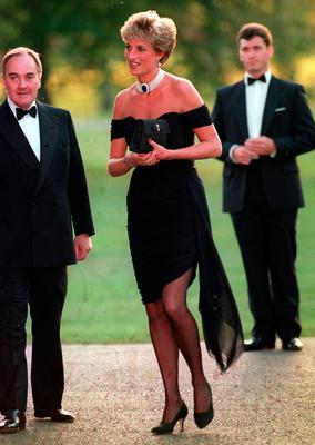 Diana at the Serpentine Gallery in 1994
