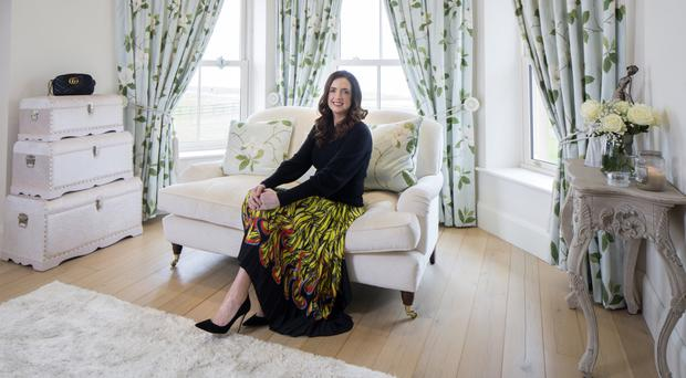 Home comforts: Ramona Nicholas in her sitting room