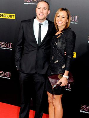 Dame Jessica Ennis-Hill with husband Andy Hill