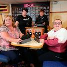 From left: Eilish, Karen, Eileen and Margaret who feature in True North: Big Night At The Bingo