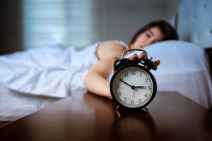 Terrible tiredness: more people are struggling with their sleep but Deirdre Martin insists there are ways to help, such as not bringing phones to bed