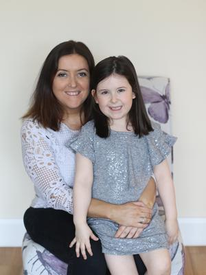 Success story: Stephanie McKittrick with her daughter Lexie