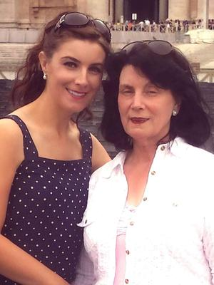 Margaret with her mum Mary