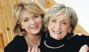 Rose Neill  with her mum