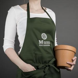 Have a name or message embroidered on to this handy gardening apron, £14.99, gettingpersonal.co.uk