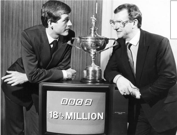 Golden time: despite his traumatic defeat to Dennis Taylor in the never-to-be forgotten 1985 final which attracted a record 18.5m viewers, Steve Davis went on to win three more world titles and also carved out a successful career away from the snooker table