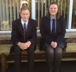 Anxieties: Emma McAlister and her brother Stuart