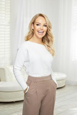 Looking up: Katie Piper sees the brighter side of lockdown