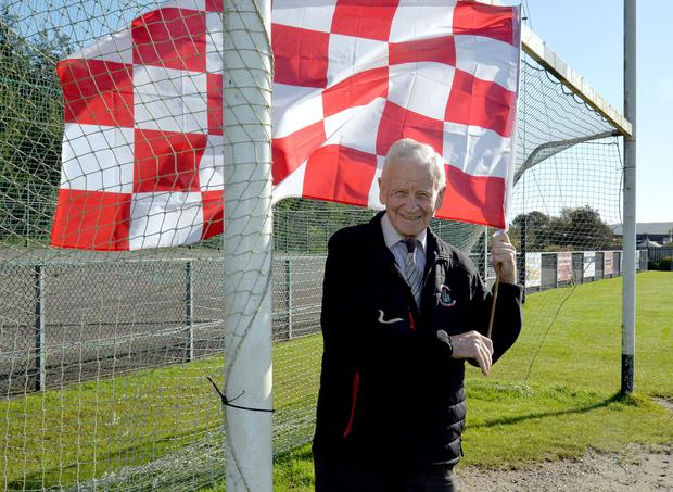 Flying the flag: Patsy McCaughey, Trillick GAC honorary vice-president