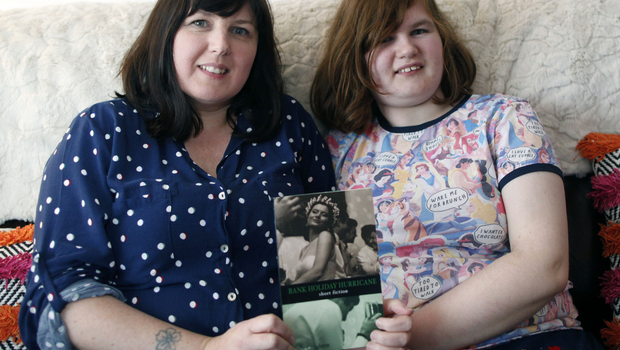 Solid bond: Kelly with eldest daughter Maddie, who suffers from autism