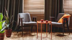 No peeking: blinds or curtains can help keep your home private