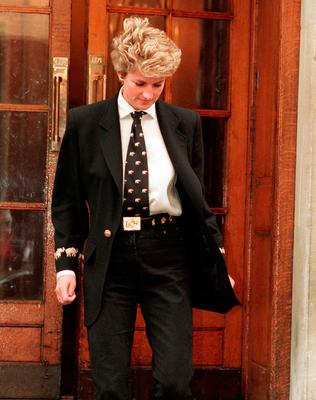 Changing look: Diana in 1994