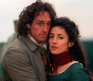 Orla Brady and Robert Cavanah in another television adaptation of the book