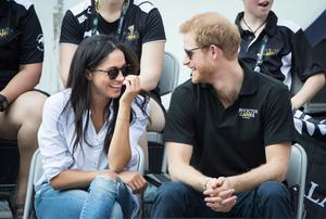 First appearance: Prince Harry and Meghan Markle at the Invictus Games