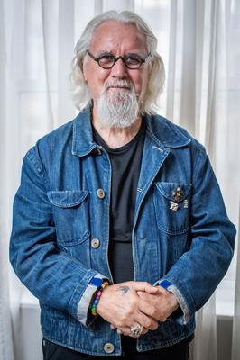 Comedian Billy Connolly, who also has Parkinson's disease