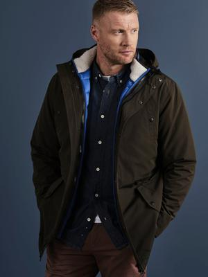 Freddie Flintoff modelling clothes for Jacamo