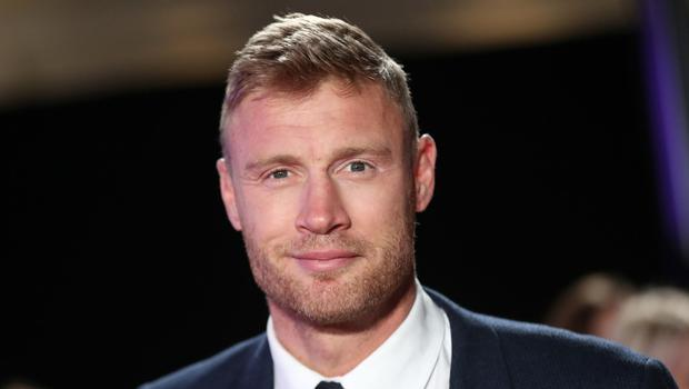 Chocolate lover: Andrew Flintoff can't resist the £1 offers