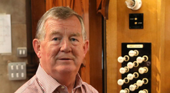 Key notes: Dr Joe McKee has been a Church organist for many years